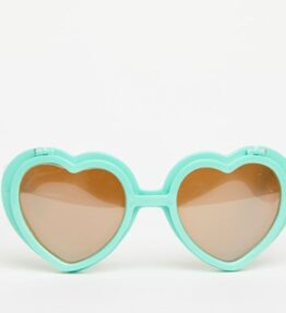 Love Specs Diffraction Sunglasses Pastel Green Flip