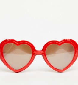 Love Specs Diffraction Sunglasses Red Flip