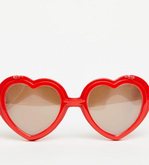 Love Specs Diffraction Sunglasses Red Flip