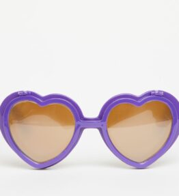 Love Specs Diffraction Sunglasses Purple Flip