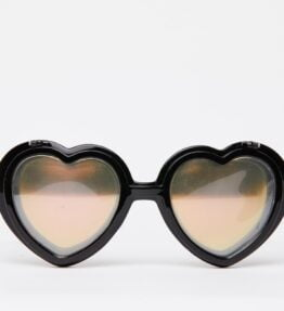 Love Specs Diffraction Sunglasses Black Flip (Mirror)