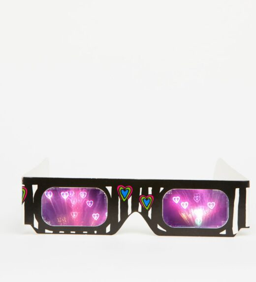 20 Paper Lovespecs - For Fireworks & Parties