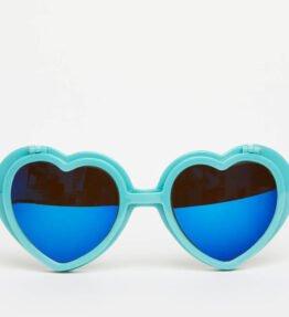 Love Specs Diffraction Turquoise Flip