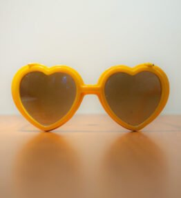 Love Specs Diffraction Sunglasses Saffron Flip